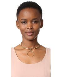 Luv Aj - Multicolor The Crescent Collar Necklace - Lyst