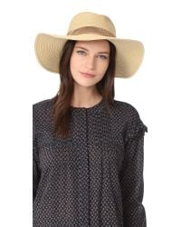 Madewell | Natural Stitched Packable Straw Hat | Lyst