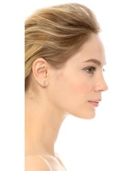 Maha Lozi - Multicolor Fine Line Earrings - Lyst