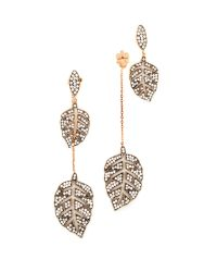 Maha Lozi | Multicolor Farmers Leaf Earrings | Lyst