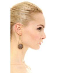 Marni - Metallic Horn Earrings - Lyst