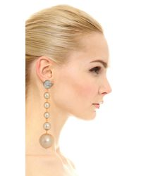 Marni - Natural Earrings With Resin - Lyst