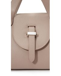 meli melo - Natural Thela Mini Cross Body Bag - Lyst