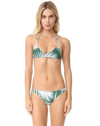 Mikoh Swimwear | Multicolor Banyans String Racer Back Bikini Top | Lyst