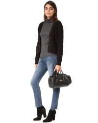 MILLY - Black Astor Mini Duffel Bag - Lyst