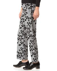 Marc Jacobs | Multicolor Animal Cropped Bowie Pants | Lyst