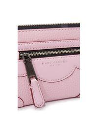 Marc Jacobs - Pink Haze Zip Phone Wristlet - Lyst