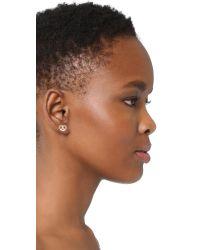 Marc Jacobs - Multicolor Pretzel Single Stud Earring - Lyst