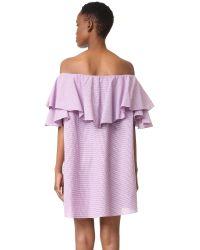MLM Label - White Maison Dress - Lyst