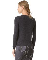 Moschino - Black Panel Sweater - Lyst