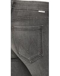 Mother - Blue The Looker Skinny Jeans - Lyst