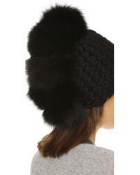 Mischa Lampert - Black Pohawk Hat - Lyst