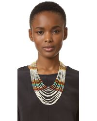 Nakamol - Metallic Rachel Statement Necklace - Lyst
