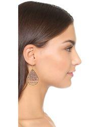 Nakamol - Metallic Stephanie Earrings - Lyst