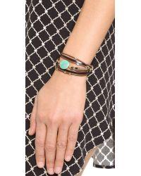 Nakamol - Brown Kara Bracelet - Lyst