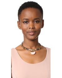Nakamol - Brown Hayley Necklace - Lyst