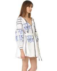 Nicholas - White N / Embroidered Dress - Lyst