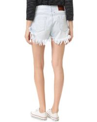 One Teaspoon - Multicolor Xanthe Bandits Shorts - Lyst