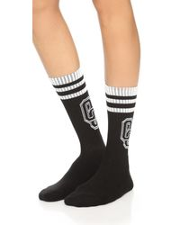 Opening Ceremony - White Oc Logo Socks - Lyst