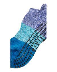 Pointe Studio - Blue Naomi Cushioned Grip Socks - Lyst