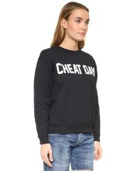 Private Party - Black Cheat Day Sweatshirt - Lyst