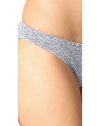 Prism - Gray Punta Bikini Bottoms - Lyst