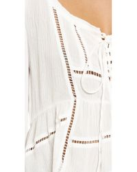 Raga - White City Breeze Blouse - Lyst