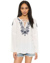 Raga - White The Marina Tunic - Lyst