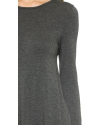Riller & Fount - Gray Adelaide A Line Tunic - Lyst