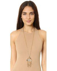 Rebecca Minkoff | Metallic Large Dreamcatcher Pendant Necklace | Lyst