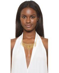 Rebecca Minkoff - Metallic Needle Statement Collar Necklace - Lyst