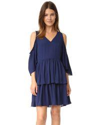 Rebecca Minkoff   Blue Roberta Dress   Lyst