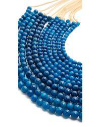 Rosantica - Blue Raissa Necklace - Lyst