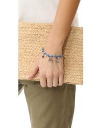 Rosantica - Blue Sombrero Bracelet - Lyst