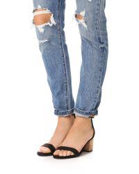 Schutz - Black Chimes City Sandals - Lyst