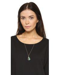 Shashi - Metallic Celeste Tassel Necklace - Lyst