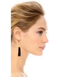 Shashi - Black Heidi Earrings - Lyst