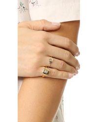 SHAY - Metallic Essential Diamond Pinky Ring - Lyst