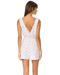 6 Shore Road By Pooja - White Sabado Romper - Lyst