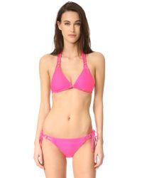 Shoshanna   Multicolor Multi String Bikini Top   Lyst