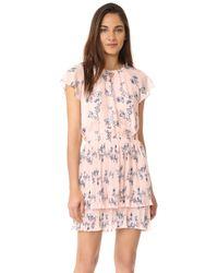 Shoshanna | Pink Ebony Dress | Lyst
