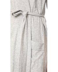 Skin - Gray Robe - Lyst