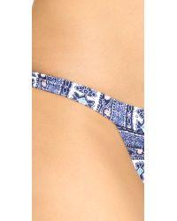 Somedays Lovin - Multicolor Riveria Triangle Bikini Bottom - Lyst