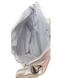Star Mela - Green Berta Stripey Cross Body Bag - Lyst