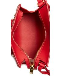 Sophie Hulme | Red Mini Box Tote Bag | Lyst