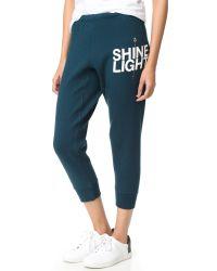 Spiritual Gangster | Blue Shine Light Arrow Dharma Sweatpants | Lyst