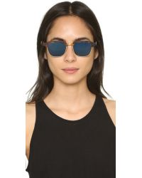 Retrosuperfuture - Brown Gonzo Team Sunglasses - Lyst