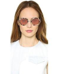 Retrosuperfuture - Pink Santa Gel Sunglasses - Lyst