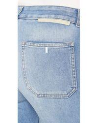 Stella McCartney - Blue Skinny Kick Flare Jeans - Lyst