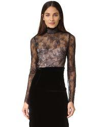 StyleStalker | Black Allende Bodysuit | Lyst